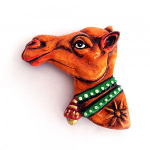 Handmade & Hand Painted Rajasthani Camel Face,...