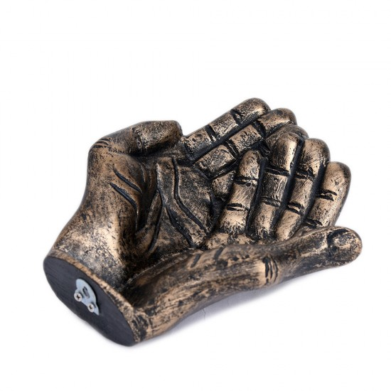 Praying Gesture Hand Shape Fragrant Potpourri Holder Table Décor or Wall Décor