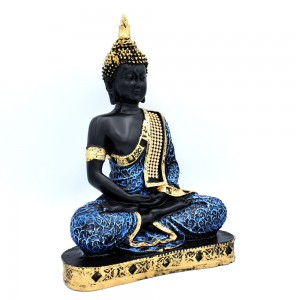 Sitting Buddha Idol Statue Showpiece for Home Deco...