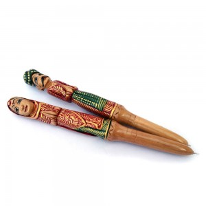 Wooden Hand Crafted and Miniature Hand Painted Raj...