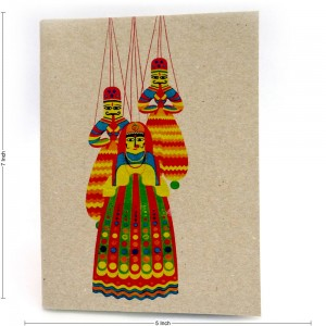 Ecofriendly Indian Puppet Theme Notebook, Easy to ...