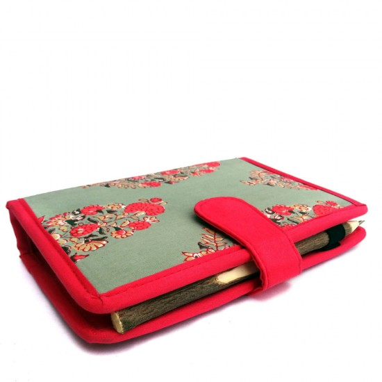 """Multipurpose Jaipur Hand block cover Hand Organizer for Pen, Business Card, Currency 
