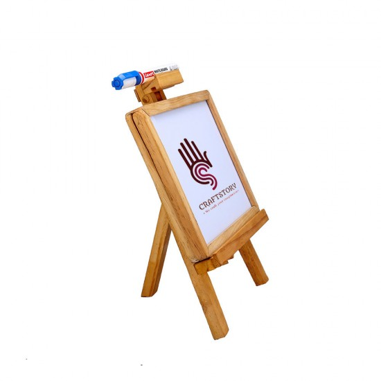 2 in 1 Writing Activity Board with Stand | Sliding White Board Black Board for Kitchen, Boys Girls, Chefs, Restaurant Owners | Board for Home, Kids