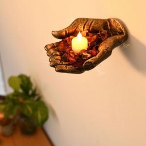Praying Gesture Hand Shape Fragrant Potpourri Hold...