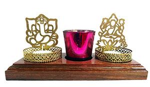 Laxmi/Ganesh Ji Tealight Candle Holder